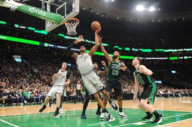 San Antonio Spurs vs. Boston Celtics - 11/9/19 NBA Pick, Odds, and Prediction