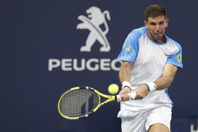Pablo Cuevas vs. Federico Delbonis - 2/3/2020 Tennis Pick, Odds, and Prediction