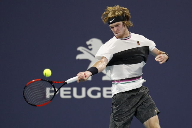 Paris Masters: Andrey Rublev vs. Radu Albot 11/04/20 Tennis Prediction