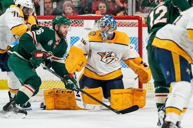 Nashville Predators vs. Minnesota Wild - 10/3/19 NHL Pick, Odds, and Prediction