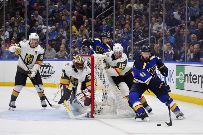 St. Louis Blues vs. Vegas Golden Knights - 12/12/19 NHL Pick, Odds, and Prediction