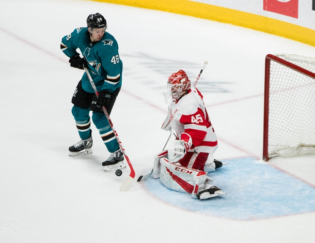 San Jose Sharks vs. Detroit Red Wings - 11/16/19 NHL Pick, Odds, and Prediction