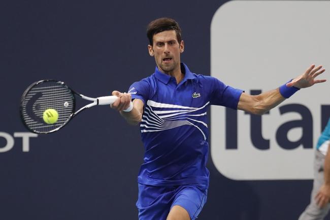 Novak Djokovic vs. Dominic Thiem - 2/2/20 Australian Open Tennis Pick, Odds & Prediction