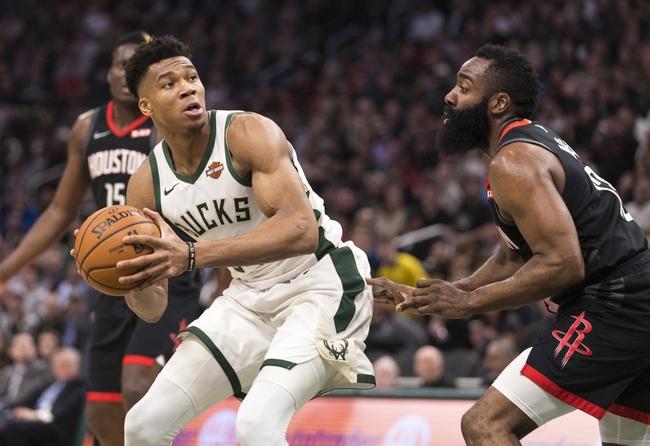 Houston Rockets vs. Milwaukee Bucks - 10/24/19 NBA Pick, Odds, and Prediction