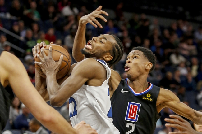 Minnesota Timberwolves vs. Los Angeles Clippers - 12/13/19 NBA Pick, Odds, and Prediction