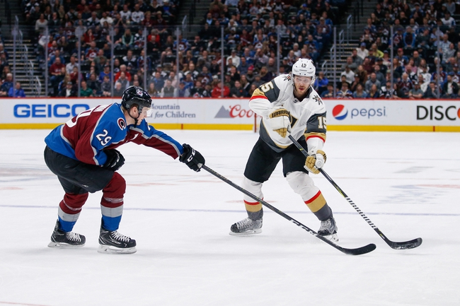 Vegas Golden Knights vs. Colorado Avalanche - 10/25/19 NHL Pick, Odds, and Prediction