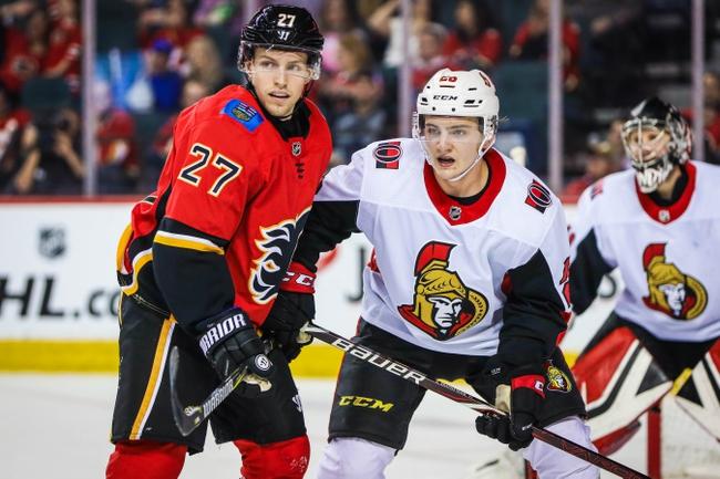 Calgary Flames vs. Ottawa Senators - 11/30/19 NHL Pick, Odds, and Prediction