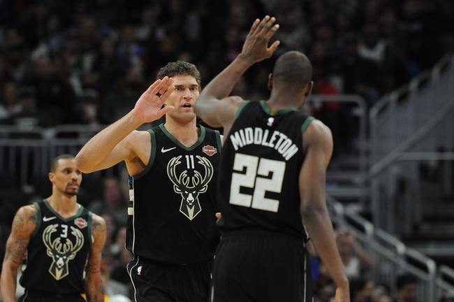 Milwaukee Bucks vs. Miami Heat - 10/26/19 NBA Pick, Odds, and Prediction