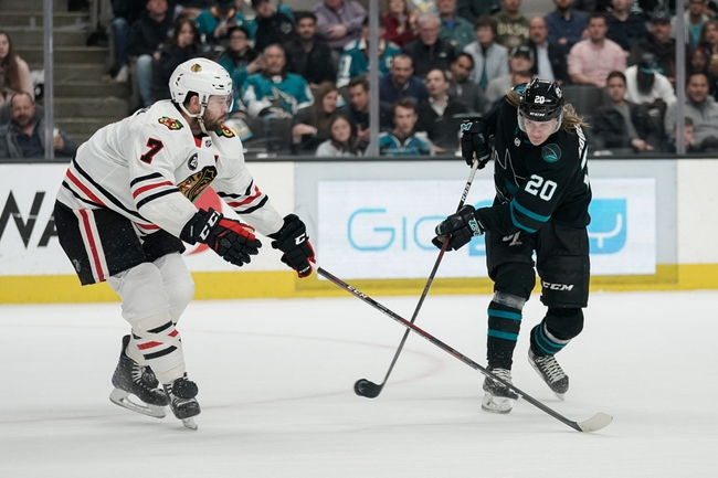 Chicago Blackhawks vs. San Jose Sharks - 10/10/19 NHL Pick, Odds, and Prediction
