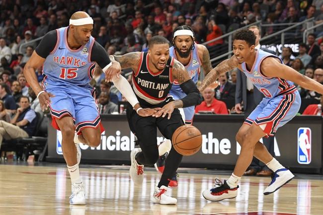 Portland Trail Blazers vs. Atlanta Hawks - 11/10/19 NBA Pick, Odds, and Prediction