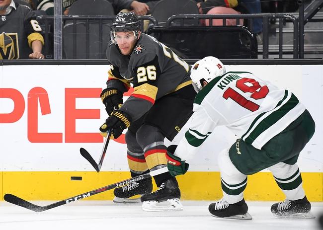 Vegas Golden Knights vs. Minnesota Wild - 12/17/19 NHL Pick, Odds, and Prediction