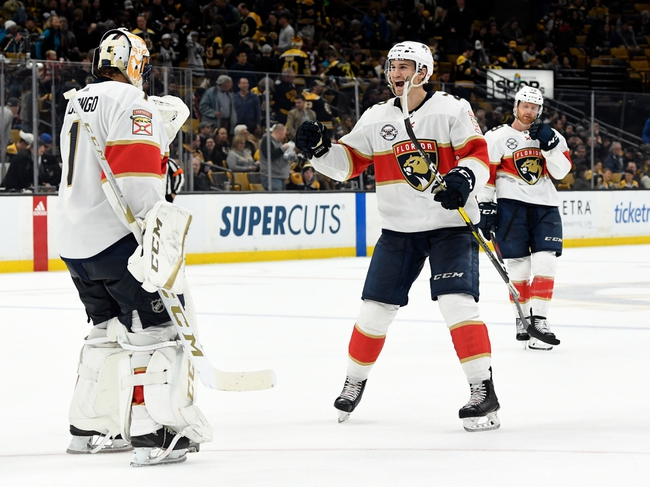 Boston Bruins vs. Florida Panthers - 11/12/19 NHL Pick, Odds, and Prediction