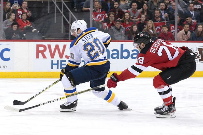 St. Louis Blues vs. New Jersey Devils - 2/18/20 NHL Pick, Odds, and Prediction