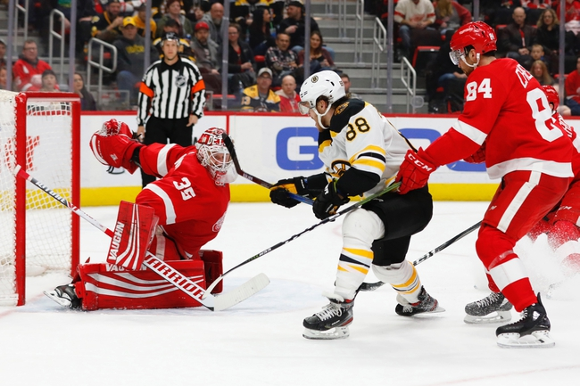Detroit Red Wings vs. Boston Bruins - 11/8/19 NHL Pick, Odds, and Prediction