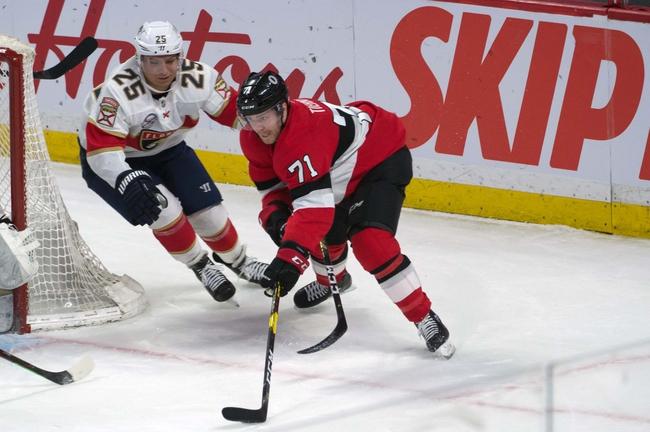 Florida Panthers vs. Ottawa Senators - 12/16/19 NHL Pick, Odds, and Prediction