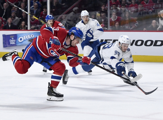 Montreal Canadiens vs. Tampa Bay Lightning - 10/15/19 NHL Pick, Odds, and Prediction