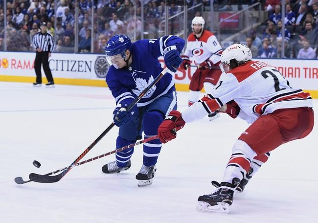 Toronto Maple Leafs vs. Carolina Hurricanes - 12/23/19 NHL Pick, Odds, and Prediction