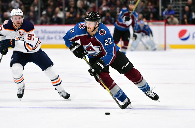 Edmonton Oilers vs. Colorado Avalanche - 11/14/19 NHL Pick, Odds, and Prediction