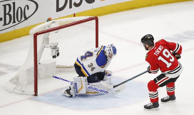 Chicago Blackhawks vs. St. Louis Blues - 12/2/19 NHL Pick, Odds, and Prediction