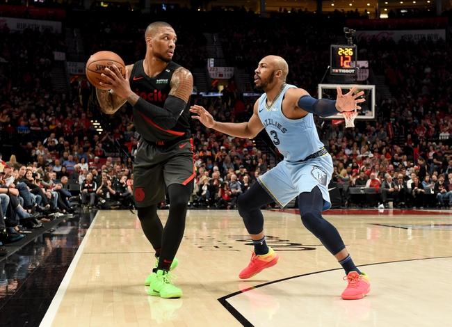 Memphis Grizzlies vs. Portland Trail Blazers - 2/12/20 NBA Pick, Odds, and Prediction