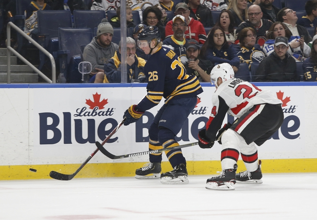 Buffalo Sabres vs. Ottawa Senators - 11/16/19 NHL Pick, Odds, and Prediction