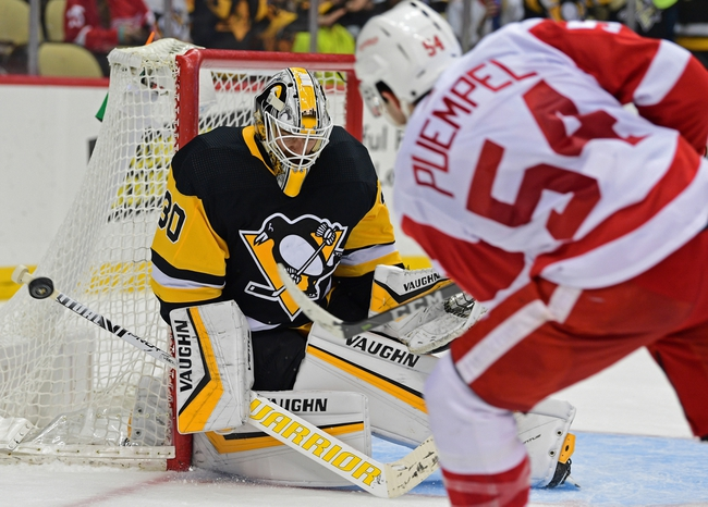 Detroit Red Wings vs. Pittsburgh Penguins - 12/7/19 NHL Pick, Odds, and Prediction