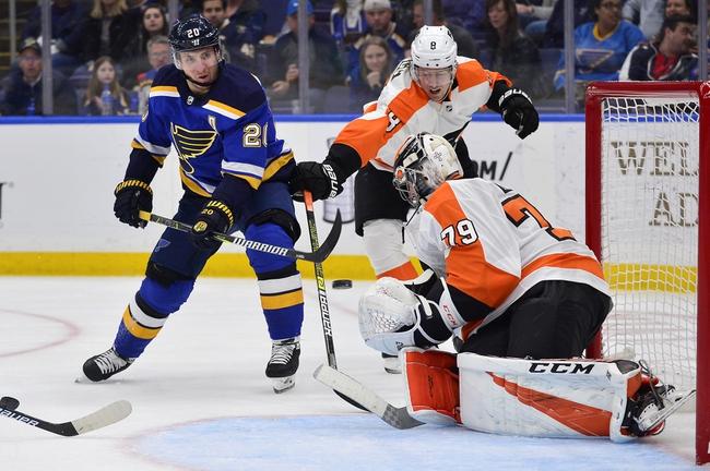 St. Louis Blues vs. Philadelphia Flyers - 1/15/20 NHL Pick, Odds & Prediction