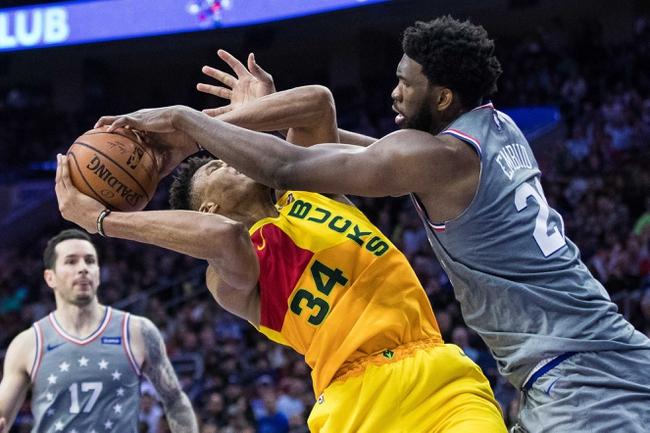 Philadelphia 76ers vs. Milwaukee Bucks - 12/25/19 NBA Pick, Odds, and Prediction