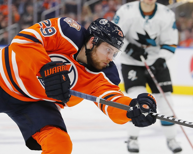San Jose Sharks vs. Edmonton Oilers - 11/12/19 NHL Pick, Odds, and Prediction