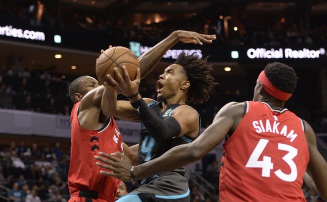 Toronto Raptors vs. Charlotte Hornets - 11/18/19 NBA Pick, Odds, and Prediction