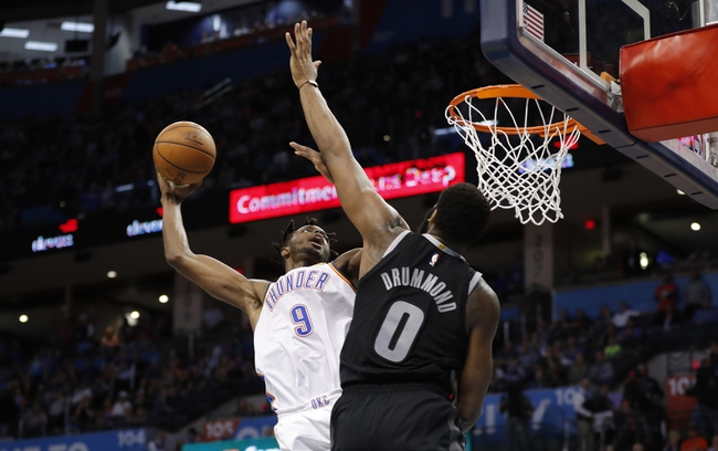 Oklahoma City Thunder vs. Detroit Pistons - 2/7/20 NBA Pick, Odds, and Prediction
