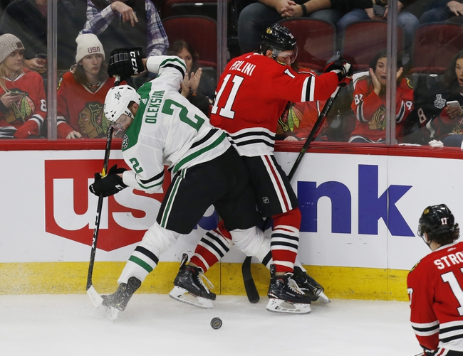 Dallas Stars vs. Chicago Blackhawks - 2/23/20 NHL Pick, Odds, and Prediction