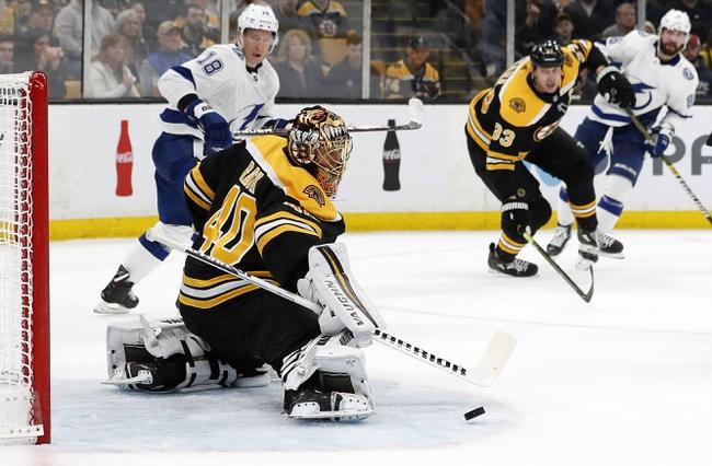 Boston Bruins vs. Tampa Bay Lightning - 10/17/19 NHL Pick, Odds, and Prediction