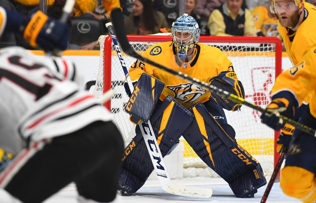 Nashville Predators vs. Chicago Blackhawks - 10/29/19 NHL Pick, Odds, and Prediction