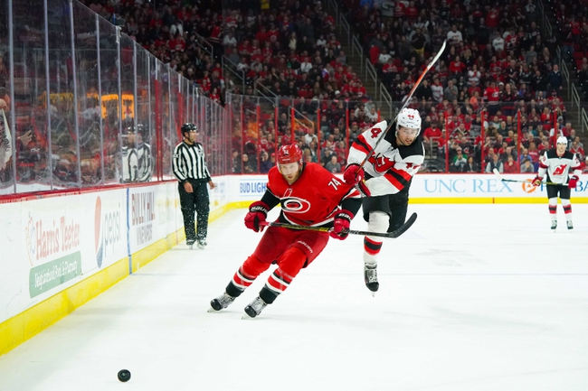 Carolina Hurricanes vs. New Jersey Devils - 2/14/20 NHL Pick, Odds & Prediction