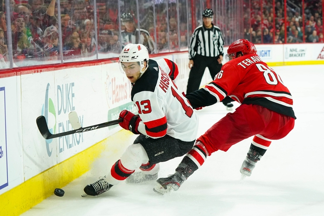 Carolina Hurricanes vs. New Jersey Devils - 2/14/20 NHL Pick, Odds, and Prediction