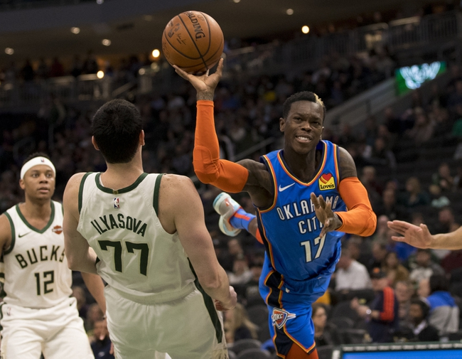 Oklahoma City Thunder vs. Milwaukee Bucks - 11/10/19 NBA Pick, Odds, and Prediction