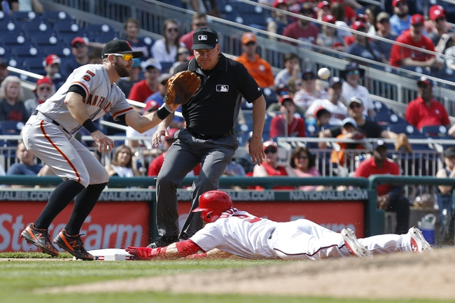 San Francisco Giants vs. Washington Nationals - 8/5/19 MLB Pick, Odds, and Prediction