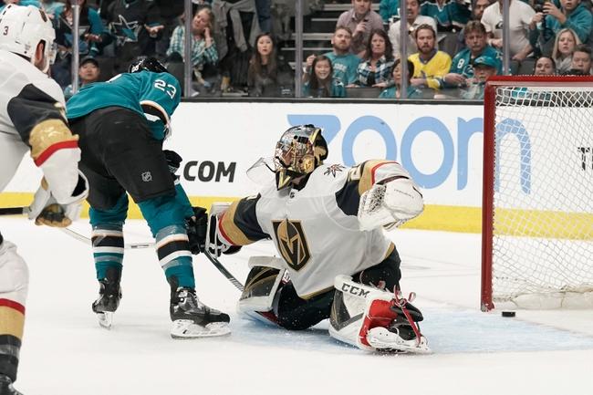 Vegas Golden Knights vs. San Jose Sharks - 10/2/19 NHL Pick, Odds, and Prediction