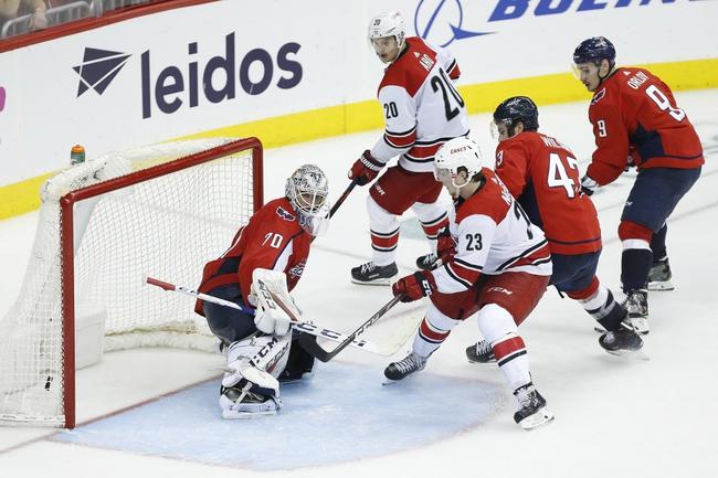 Washington Capitals vs. Carolina Hurricanes - 10/5/19 NHL Pick, Odds, and Prediction