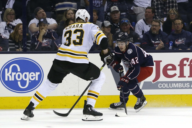 Boston Bruins vs. Columbus Blue Jackets - 1/2/20 NHL Pick, Odds, and Prediction