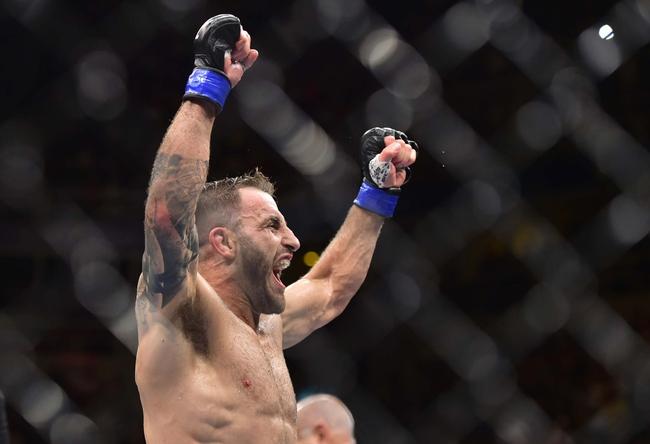 Alexander Volkanovski vs. Max Holloway - 12/14/19 UFC 245 Pick, Odds, and Prediction