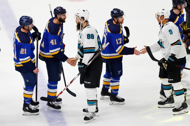 San Jose Sharks vs. St. Louis Blues - 12/21/19 NHL Pick, Odds, and Prediction