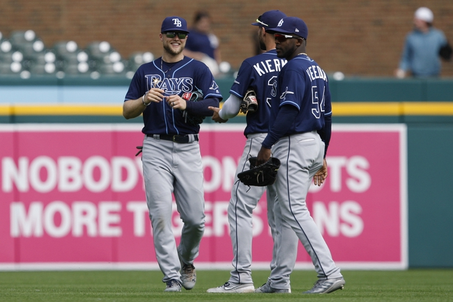 Tampa Bay Rays vs. Detroit Tigers - 8/16/19 MLB Pick, Odds, and Prediction