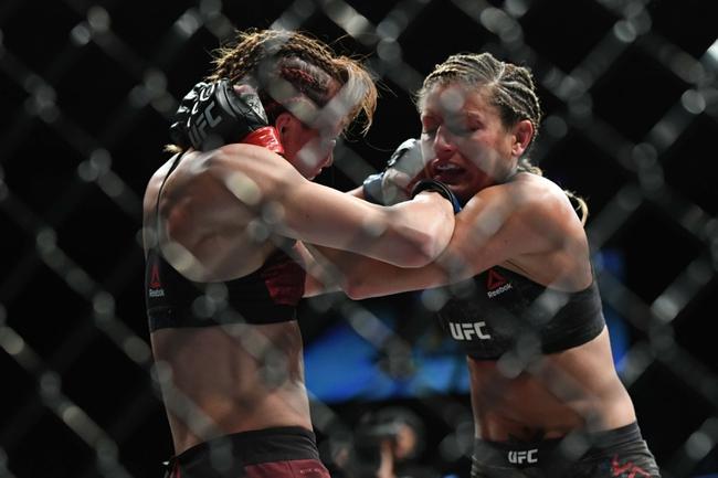 Livia Renata Souza vs. Ashley Yoder - 8/15/20 UFC 252 Pick, Odds, and Prediction