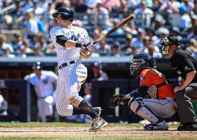 Houston Astros vs. New York Yankees - 10/12/19 MLB ALCS Game 1 Pick, Odds, and Prediction