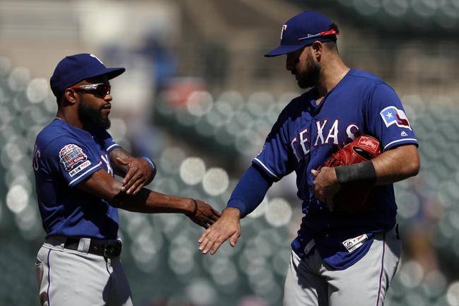 Texas Rangers vs. Detroit Tigers - 8/2/19 MLB Pick, Odds, and Prediction