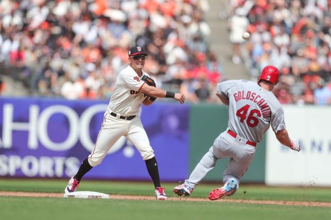 St. Louis Cardinals vs. San Francisco Giants - 9/2/19 MLB Pick, Odds, and Prediction