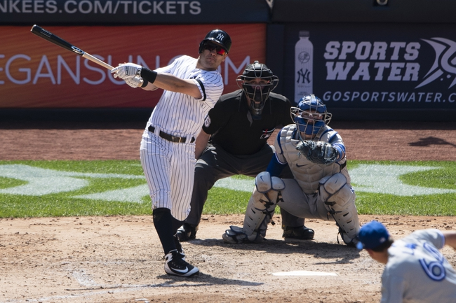 Toronto Blue Jays vs. New York Yankees - 8/8/19 MLB Pick, Odds, and Prediction