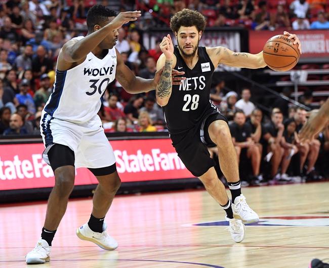 Brooklyn Nets vs. Minnesota Timberwolves - 10/23/19 NBA Pick, Odds, and Prediction